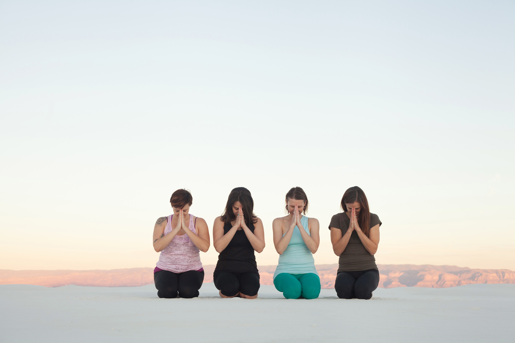 Yoga White Sands