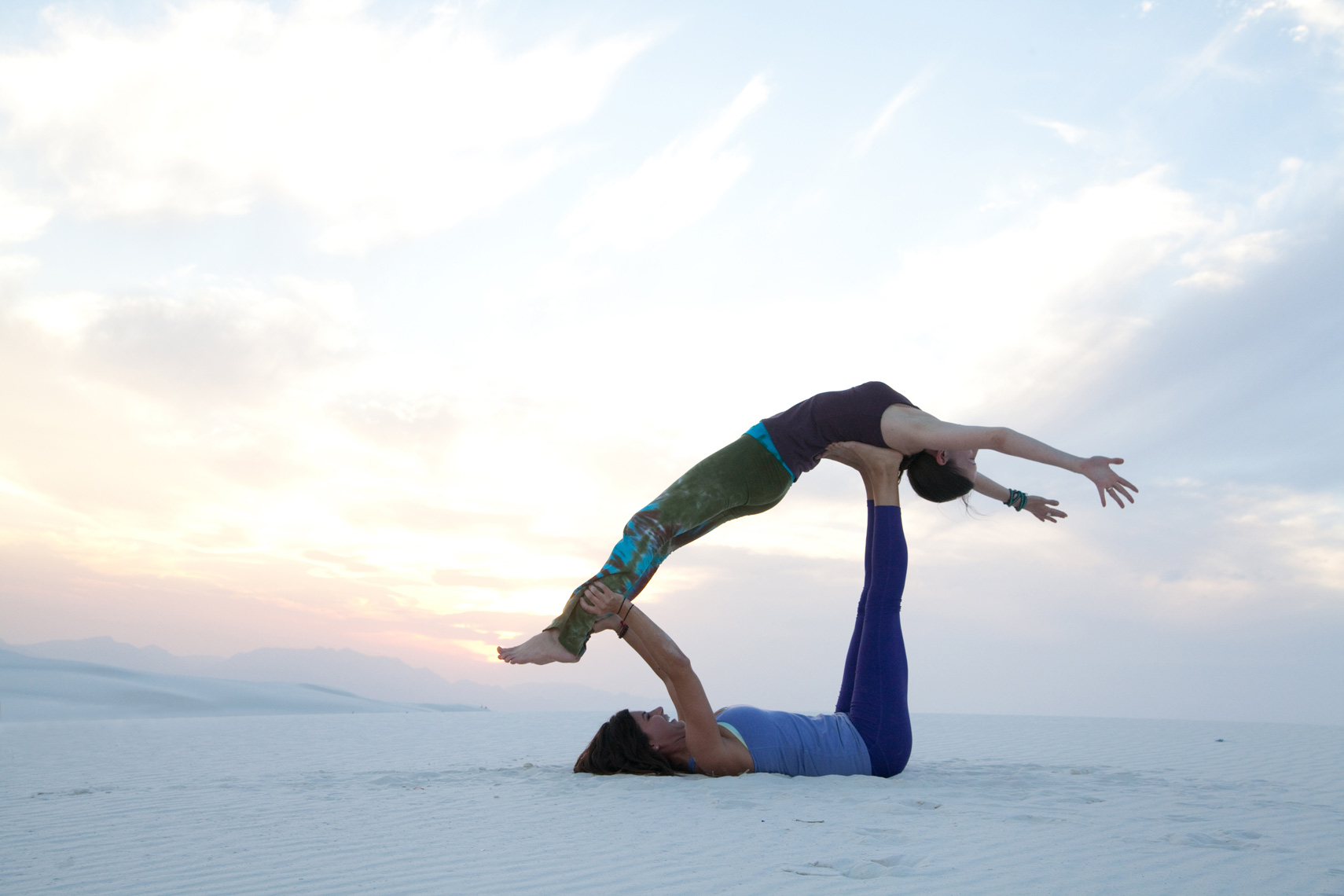 Yoga White Sands NM